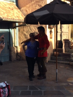 "Gaston seems a little ""scrawny"" no?"